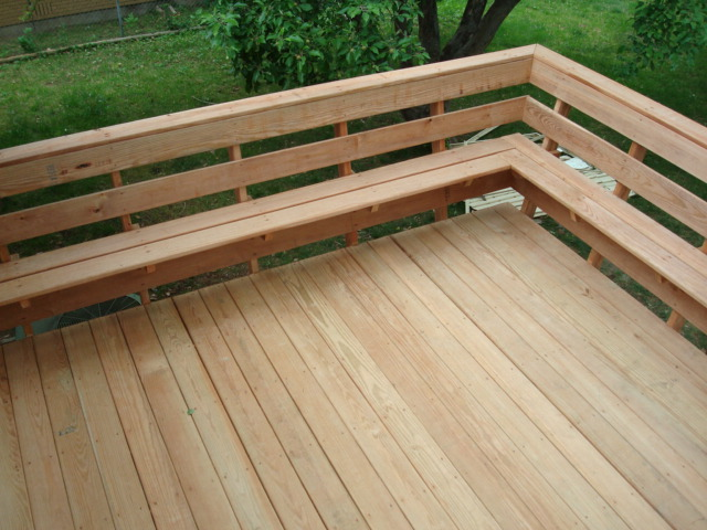 Woodworking Deck bench railing brackets Plans PDF Download Free deck ...